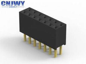 Board To Board Female Header Connector 26 Pins 2.00mm Pitch 4.3 mm Plastic Height
